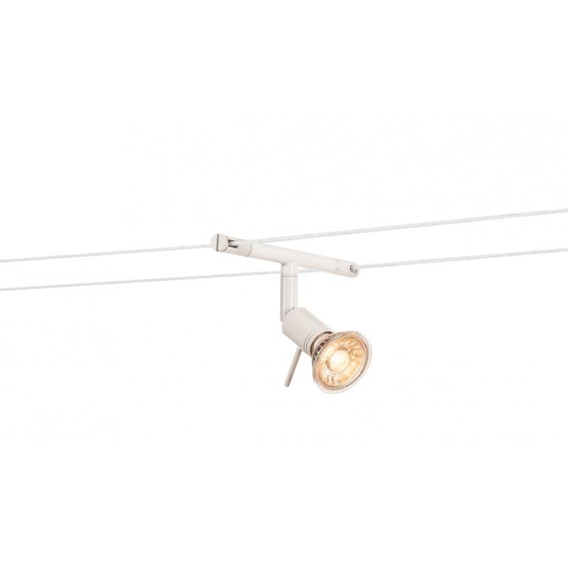 simple syros spot pour cble tendu mr blanc with luminaire fil tendu. Black Bedroom Furniture Sets. Home Design Ideas