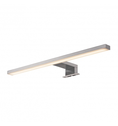 DORISA LED, luminaire de miroir, métal brossé, LED 6,6W 4000K, IP44