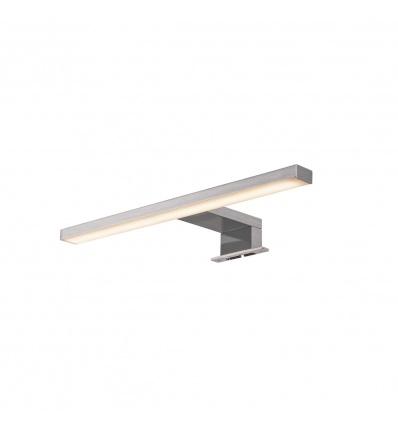 DORISA LED, luminaire de miroir, métal brossé, LED 5,2W 4000K, IP44
