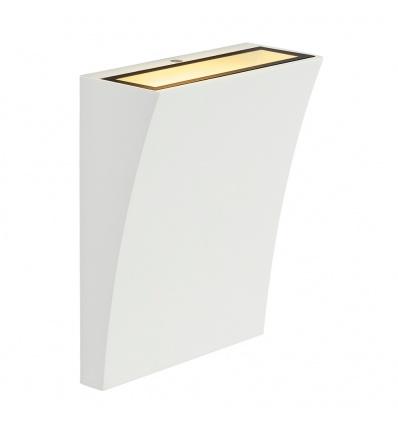 DELWA WIDE LED, applique extérieure, blanc, LED 10W 3000K, 100°, P44