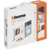 Kit vidéo couleur - Polyx Memory Display - platine saillie - 1 appel