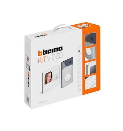 Kit portier résidentiel vidéo couleur Classe 300E - mains libres - 1 appel BTICINO BT363511