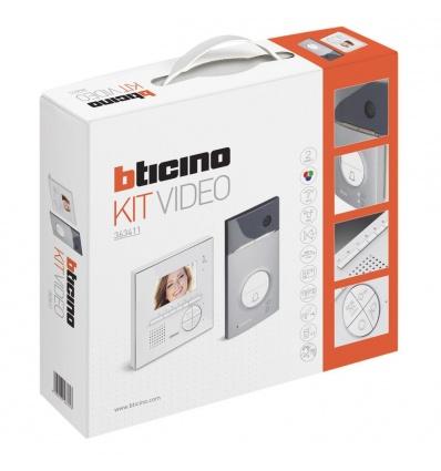 Bticino - Kit portier résidentiel vidéo couleur Classe 100V12E - mains libres BTICINO BT363411