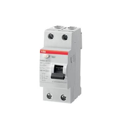 Interrupteur différentiel raccordement Rapide 40A 30mA Type Ac