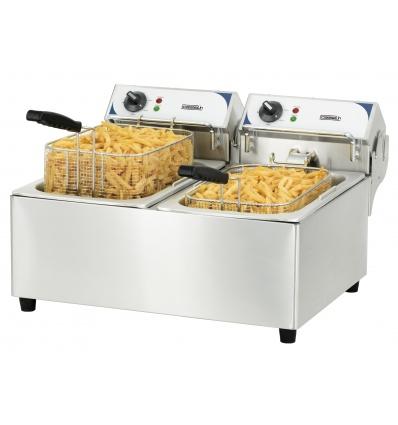 Friteuse électrique 2 x 10 litres CFE102