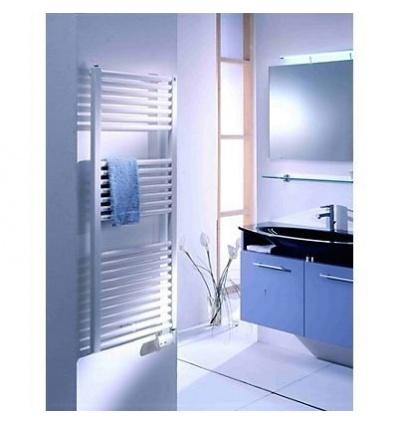 Sèche-serviettes électrique 500W tubes droits