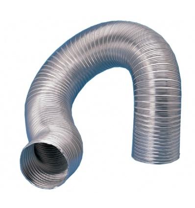 Gaine semirigide aluminium classement M0 D 125 mm longueur 3 m