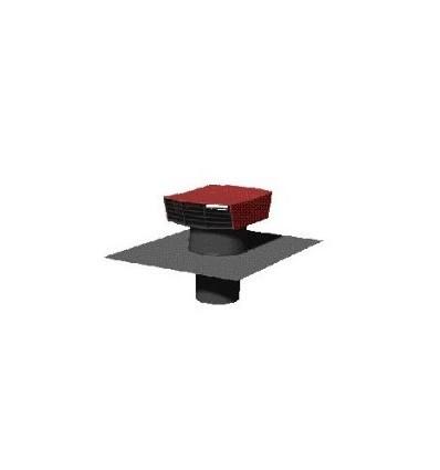 chapeau de toiture rectangulaire couleur tuile d125. Black Bedroom Furniture Sets. Home Design Ideas