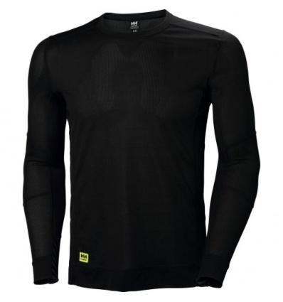 Tee-shirt manches longues LIFA noir taille XL