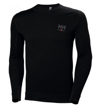 Tee-shirt manches longues LIFA MERINO noir taille XXL