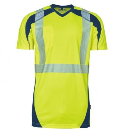 T-shirt HV TONER jaune fluo S