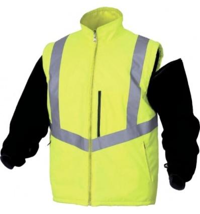 Parka Optimum haute visibilité jaune fluo 4 en 1 taille XXL