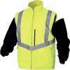 Parka Optimum haute visibilité jaune fluo 4 en 1 taille XXXL