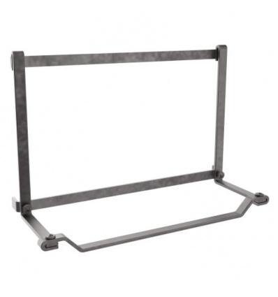 Porte-rouleau pour barre de crédences Ferré, largeur 337 mm, finition noir mat
