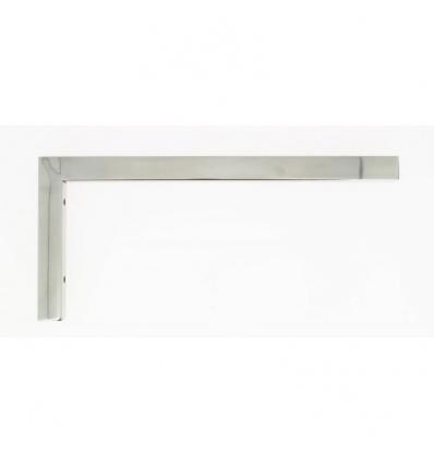 Support en laiton chromé 30 x 20 x 440 mm pour plan de toilette