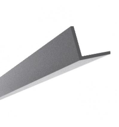 Cornière Aluminium inégale 25x15 épaisseur 1,3 mm