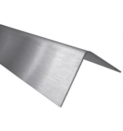 Cornières égales inox satiné longueur 2 m 40x40x1