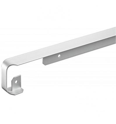 Profil alu jonction d'angle pour plan épaisseur 38mm rayon 9-11mm longueur 670mm