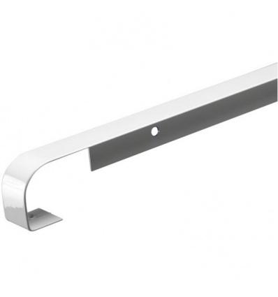 Profils plans de travail aluminium longueur 670 mm - Jonction bord à bord Egger épaisseur 38 mm