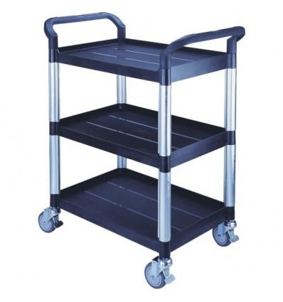 Servante chariot 3 plateaux plastiques 250 kg