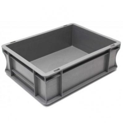Bac de manutention polypropylène gerbable norme Europe - 10L - charge maxi 15Kg 300x400x120