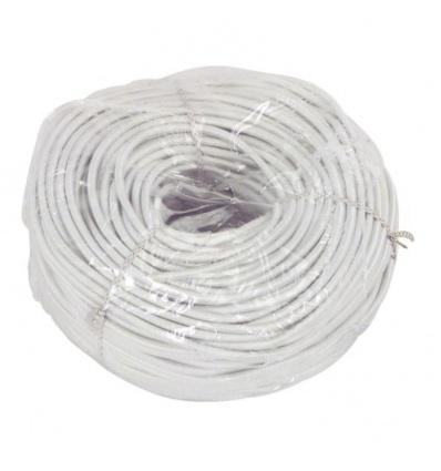 Tresse polyester élastique diamètre 6 mm en rouleau de 20 m