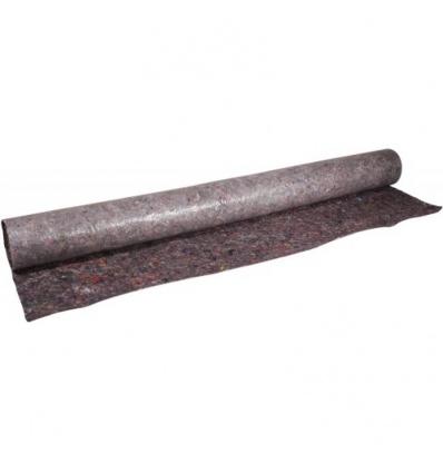 Bâche absorbante plastifiée, film polyéthylène anti-glissement, longueur 10 m, largeur 1m