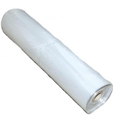 Bâche de protection polyéthylène, largeur 3 m, épaisseur 50 microns, longueur 25 m