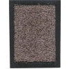 tapis anti-poussière 100% polyamide ref EVOLUTION, fibres recyclées Dim 60 x 90 colori gris