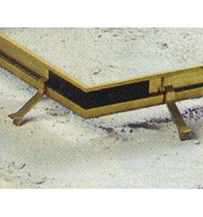 Équerres d'angle profils de cadre pour tapis brosse, boîte de 4 pièces