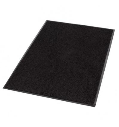 Tapis anti poussière Prisma, coloris gris, dimensions 60 x 90 cm