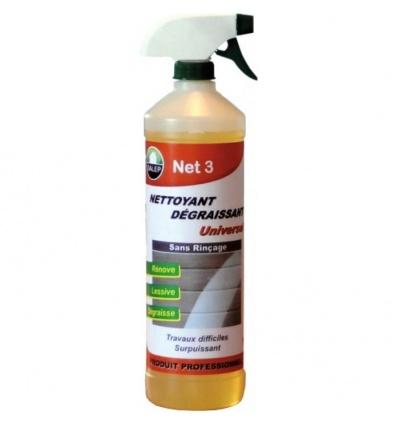 Nettoyant dégraissant surpuissant Net 3 pulvérisateur de 1 litres