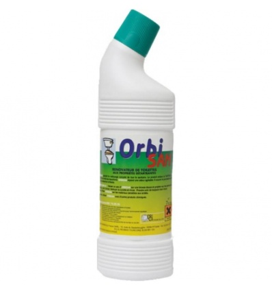 Rénovateur de porcelaine Orbi San, bidon de 750 ml