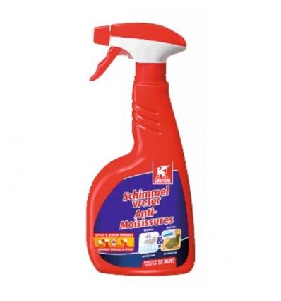 Nettoyant anti-moisissures avec mousse ou spray de 750ml