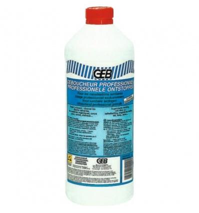 Déboucheur professionnel Geb, bidon de litre