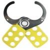 Pince pour cadenas de consignation en Ø 25.4 coloris jaune