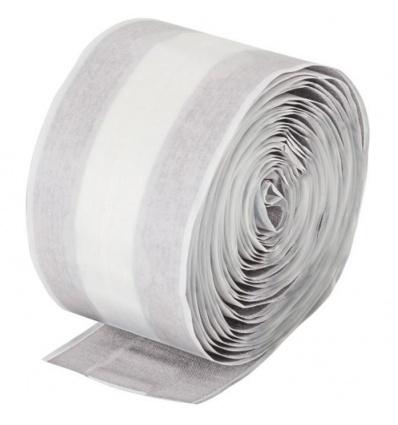 Pansement adhésif à découper non tissé blanc 5 m x 6 cm