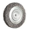 Brosse circulaire acier diamètre 200 mm épaisseur 33 mm fil diamètre 0,35 mm