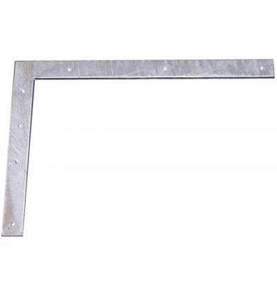 Contre-équerre acier galvanisé hauteur 500 mm