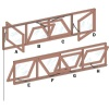 COULISSE CHASSIS 61.52 200MM