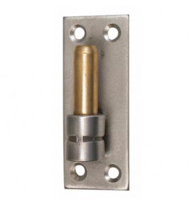 Gond sur platine droite inox 316 axe Ø 16 mm hauteur 180 mm