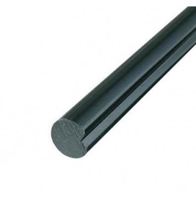 Tringles rondes 1500 mm pour espagnolettes traitement phorétique noir