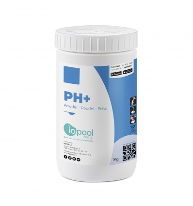 pH+ (Réhausseur de basicité en poudre) - 1kg - Iopool