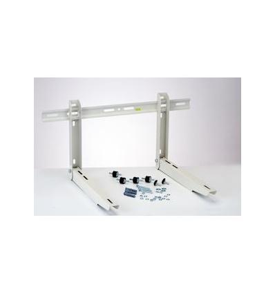SUPPORT PREMONTE MUR PLIABLE 450MM BAR NIV LG 800 MM AVEC PLOTS 140KG