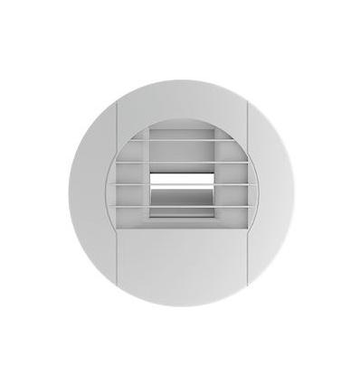 Bouche VMC Unelvent - Ozeo - BEHS 10/40 - Salle de bain - Hygroréglable - Détection d'humidité