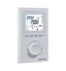 Accessoires pompe chaleur le temps des travaux - Thermostat d ambiance programmable filaire ...
