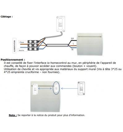 Pass Cosytouch pour radiateur connectés Atlantic