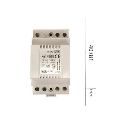 40781 TRANSFO12V 15A