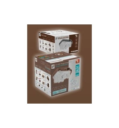 Kit ozeo2 hygro b t3 7 tr s basse consommation - Vmc hygro b basse consommation ...
