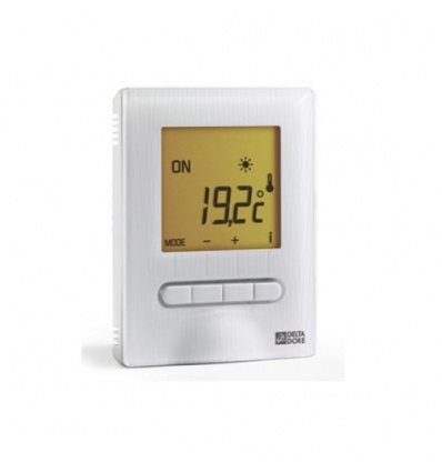 Thermostat digital MINOR 12 semi encastré Delta Dore 6151055